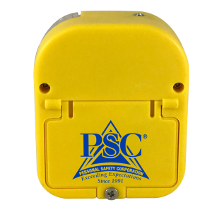 Yellow Universal Alarm Back