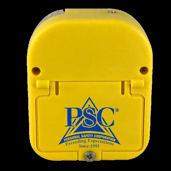 Yellow Universal Alarm Back