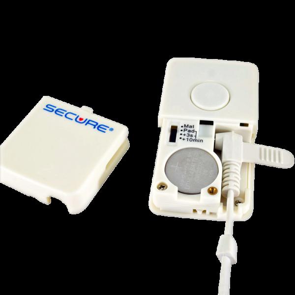 Wireless Sensor Pad Transmitter or Nurse Call Button w/Lanyard - battery