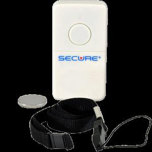 Wireless Sensor Pad Transmitter or Nurse Call Button w/Lanyard/battery
