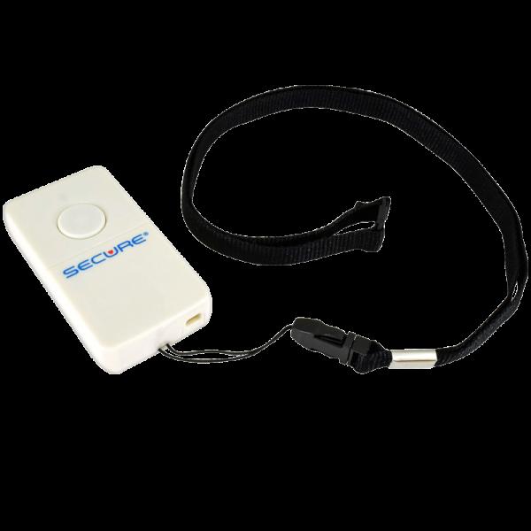 Wireless Sensor Pad Transmitter or Nurse Call Button w/Lanyard