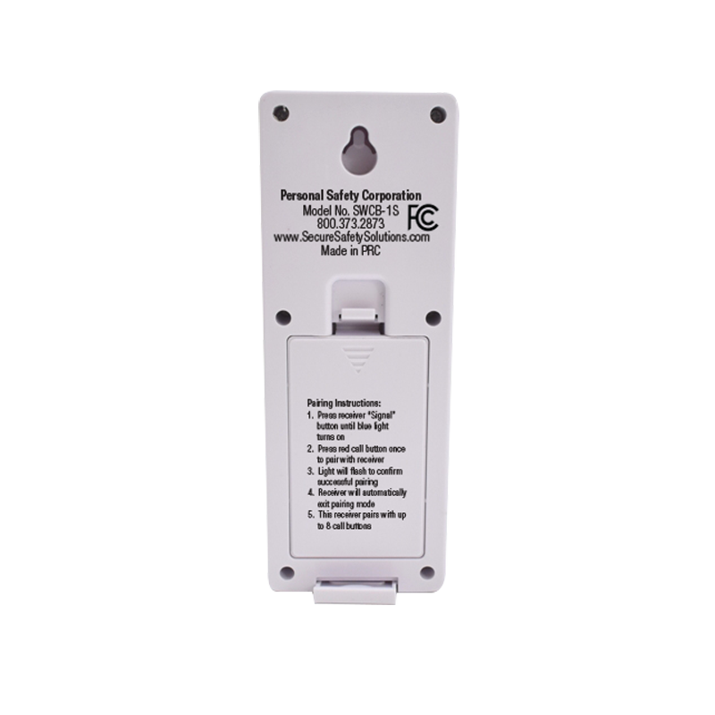 Wireless Slimline Pager One Call U00 Button System