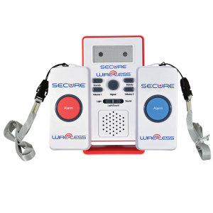 Two Call Button Caregiver Alert System - Front