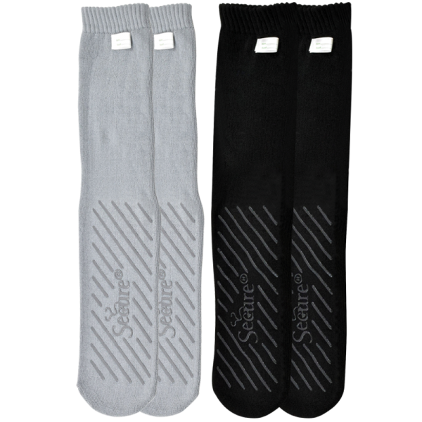 Secure® Bariatric No-Slip Socks
