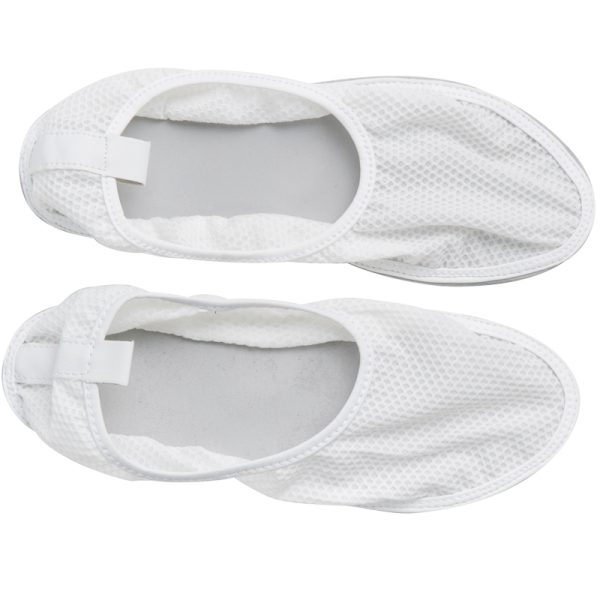 Secure® Fall Management Slip-Resistant Shower Shoes - mesh top