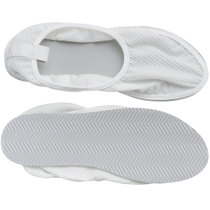 Secure® Fall Management Slip-Resistant Shower Shoes - mesh top, bottom tread