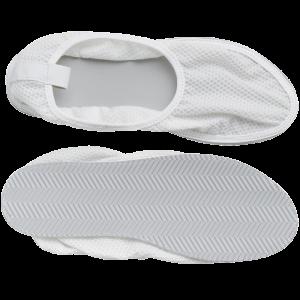 Secure® Fall Management Slip-Resistant Shower Shoes - mesh top, bottom tread