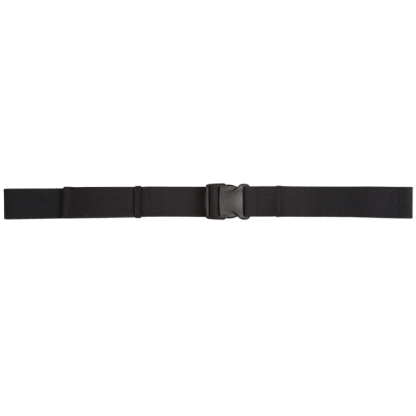 "Secure® 60"" Gait Belt with EZ Release YKK Plastic Buckle - Black"