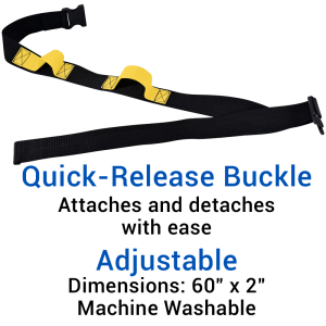 Secure® Two Hand Grip Gait Belt - Quick-Release Buckle