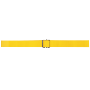 "Secure® 60"" Gait Belt with Metal Buckle - Yellow"
