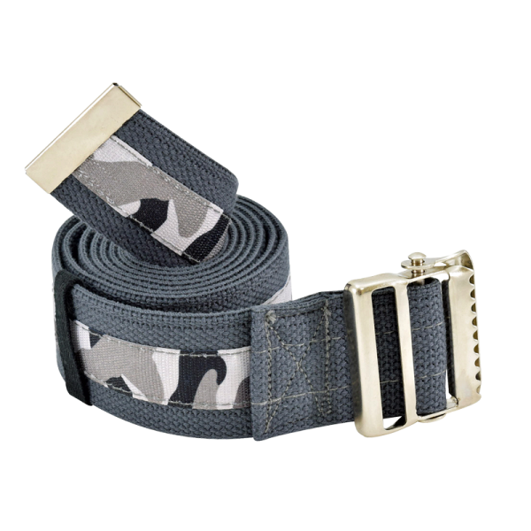 "Secure® 72"" Gait Belt with Metal Buckle - Camouflage"