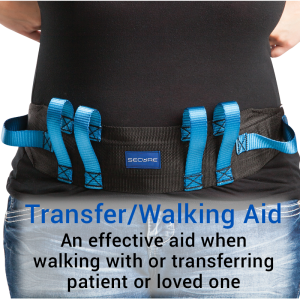 Secure® Six Hand Grip Transfer & Walking Belt - Transfer/Walking Aid