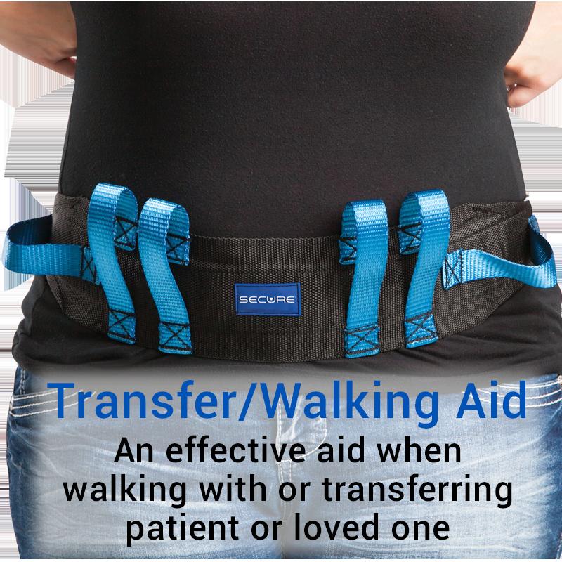 Secure® Six Hand Grip Transfer & Walking Belt - Transfer/Walking Aid