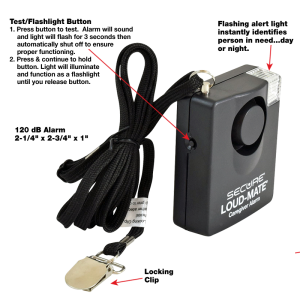 Secure® Loud-Mate® Pull String Fall Monitor