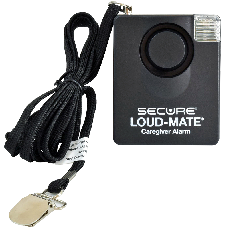 Secure® Loud-Mate® Pull String Fall Monitor - front view