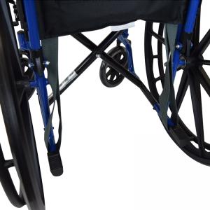 Secure® EZ Release Soft Wheelchair Seat Belt - attachment