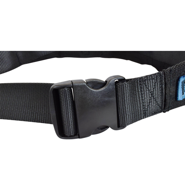 Secure® EZ Release Soft Wheelchair Seat Belt - buckle
