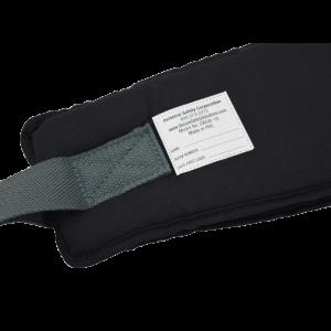 Secure® EZ Release Soft Wheelchair Seat Belt - label