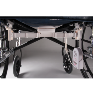 Under The Seat Wheelchair Monitor System - assembled