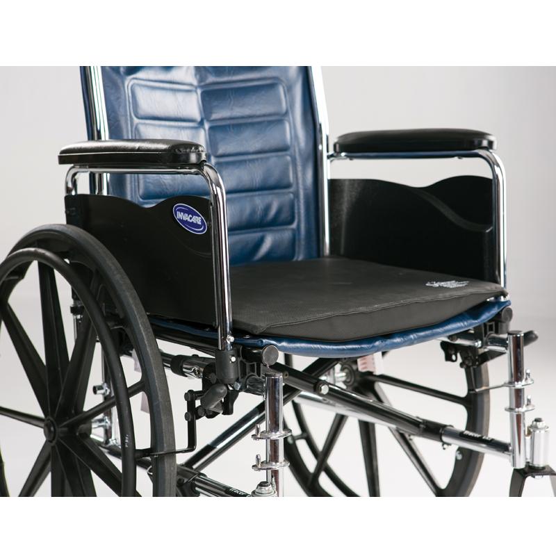 Secure Wheechair Convex Seat Cushion w/Safety Strap - WC
