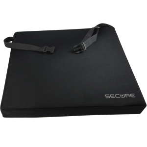 Secure® Gel Seat Cushion w/safety straps