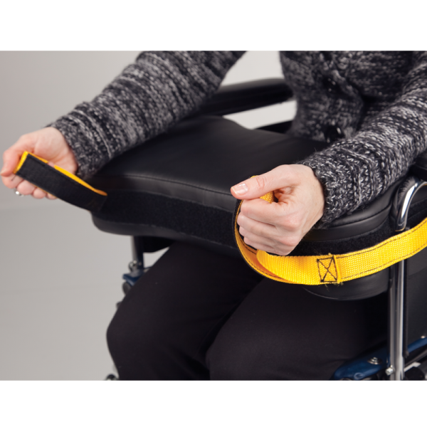 Secure® Wheelchair Easy-Release Lap Cushion assembly