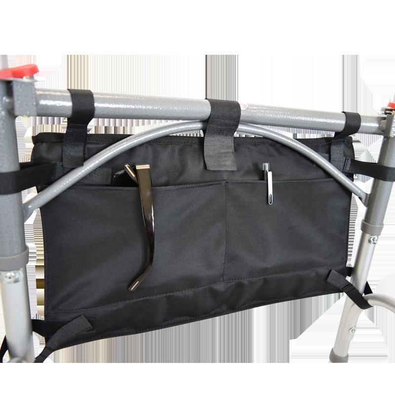 Secure 6 Pocket Walker Bag In Black Secure Safety Solutions