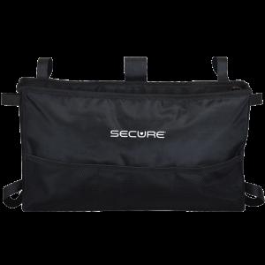 Secure® 6-Pocket Walker Bag in Black