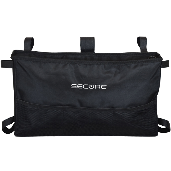 Secure® 6-Pocket Walker Bag in Black