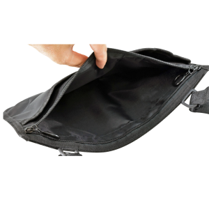Secure® 3-Pocket Wheelchair or Walker Mobility Pouch - Open Pocket