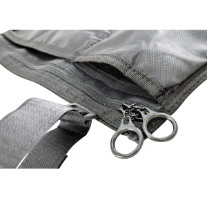 Secure® 3-Pocket Wheelchair or Walker Mobility Pouch - O-ring zipper