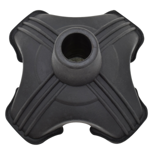 Secure® Self Standing Cane Tip top