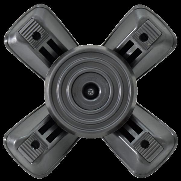 Secure® Quad Flex All Terrain Cane Tip bottom