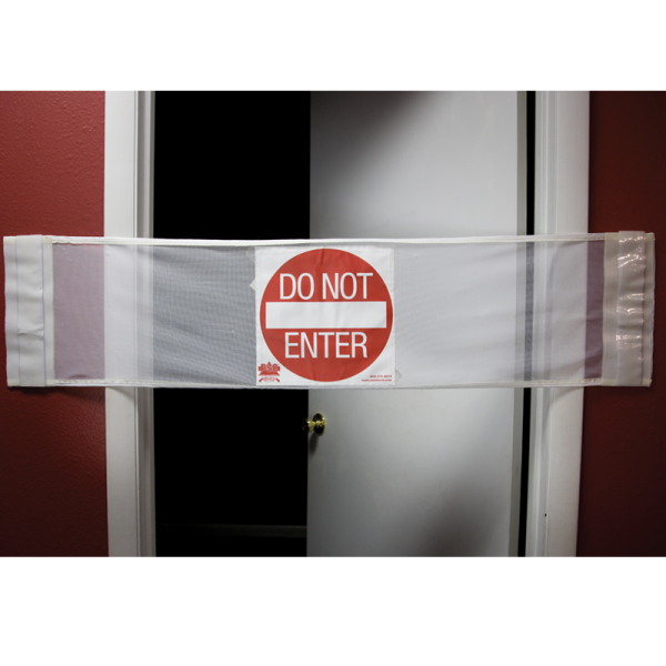 Secure® 3-in-1 Door Safety Banner - Do Not Enter Open Door