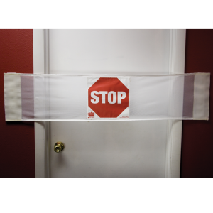 Secure® 3-in-1 Door Safety Banner - Stop Closed Door