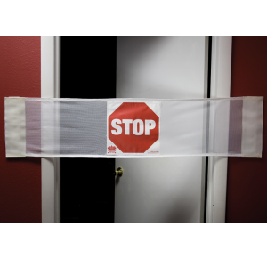 Secure® 3-in-1 Door Safety Banner - Stop Open Door