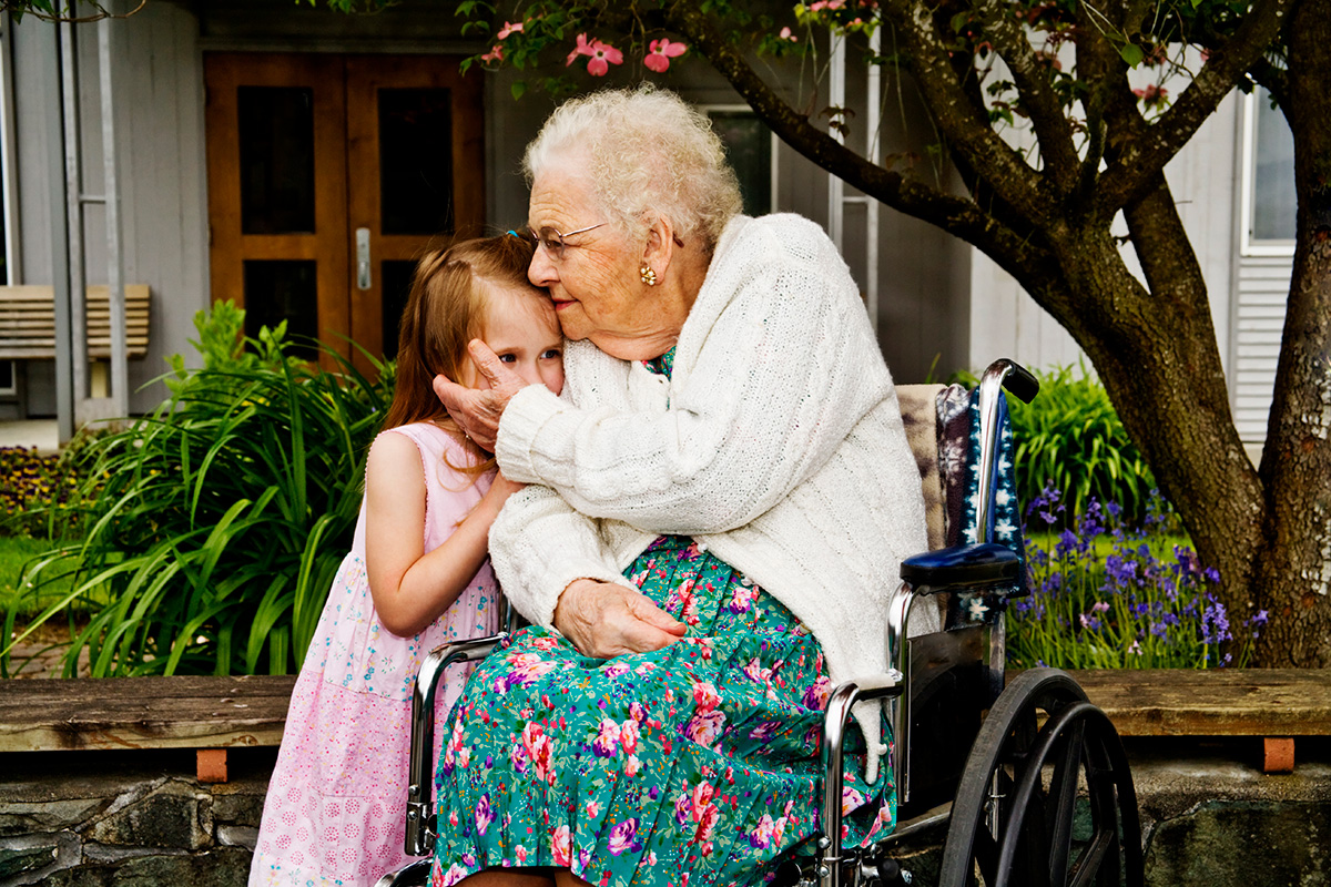 Kids and the Elderly: a Win Win