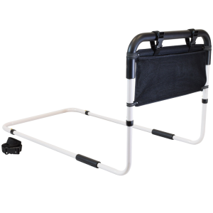 Secure® Adjustable Fall Management Bed Rail with Storage Pouch