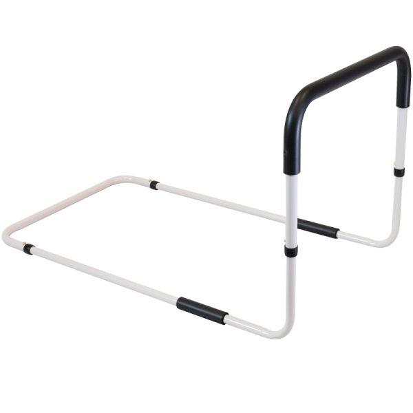 Secure® Adjustable Fall Management Bed Rail - angle