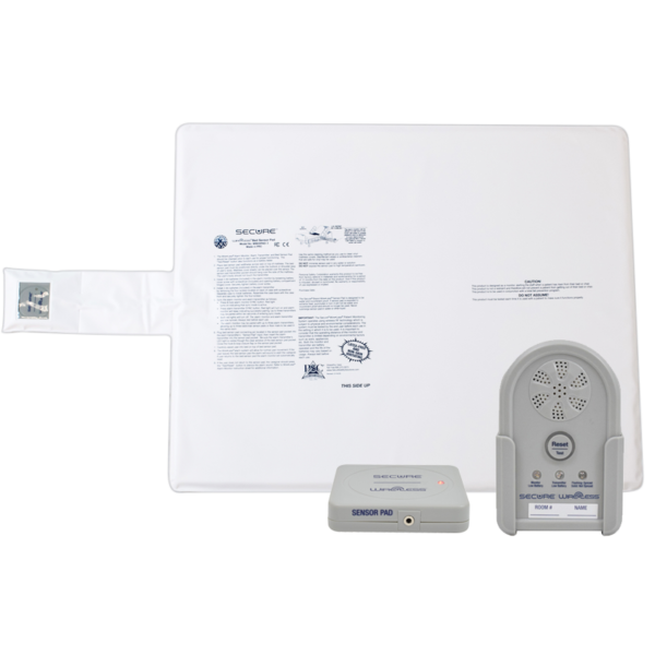 Wireless Patient Monitoring Bed Set